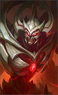 Zhask Bone Flamen Heroes Mage of Skins V1