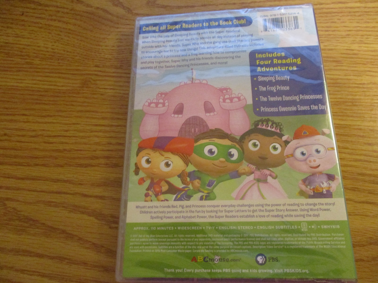 Missys Product Reviews : Super Why! Sleeping Beauty And