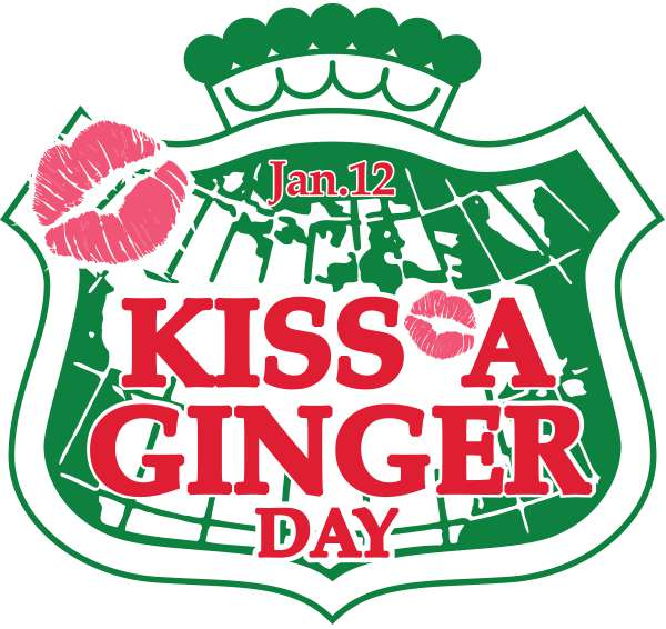 Kiss a Ginger Day Wishes Photos