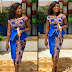 MOST CLASSIC ANKARA SHORT PENCIL SKIRT AND BLOUSE STYLE
