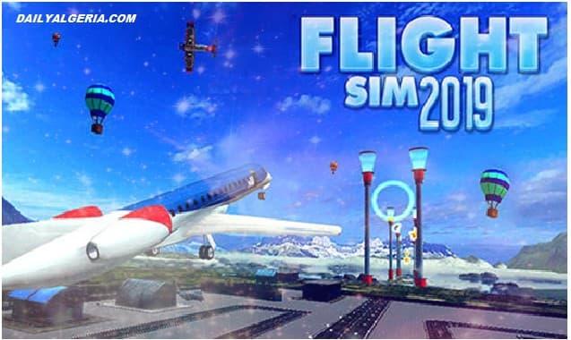 تحميل لعبة رحلة سيم Flight sim 2019 لنظام Android