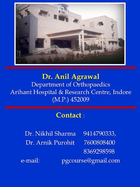 mukhopadhya orthopaedic post graduate course 209