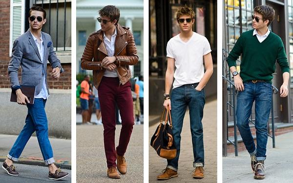 Học cách mix đồ với giày da nam cho chàng phong cách cá tính