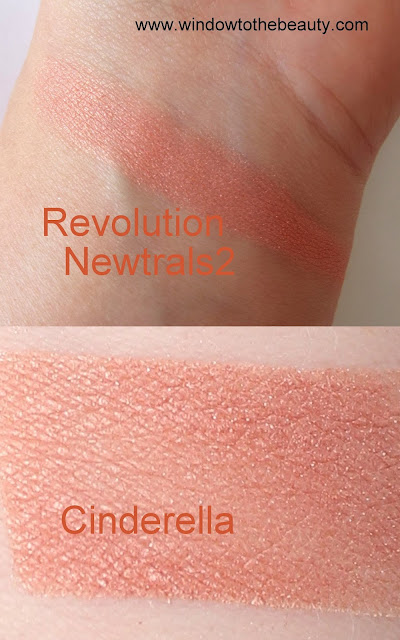 Makeup Geek Cinderella dupes