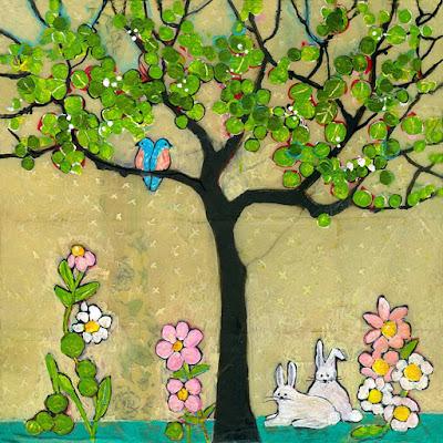 Cuadros modernos pinturas y dibujos pintar arboles en - Arboles decorativos ...