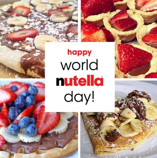 World Nutella Day Wishes Photos