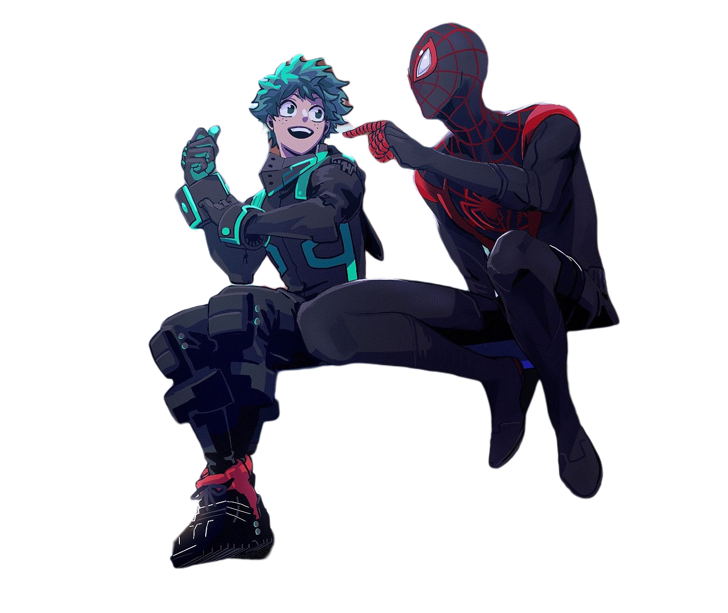 Boku no Hero Academia  x spiderman