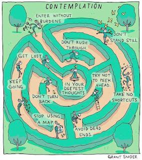 Grant Snider labyrinth illustration