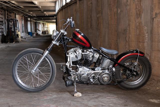 Harley Davidson Shovelhead 1973 By Alleyway Kustoms Hell Kustom