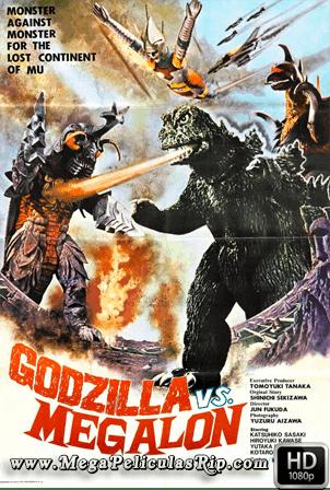 Godzilla VS Megalon [1080p] [Castellano-Japones] [MEGA]