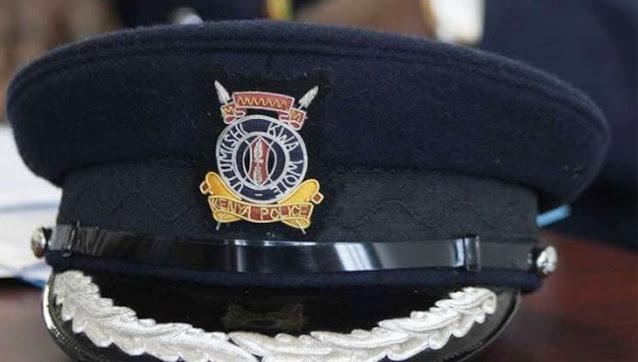 Police officer cap photo kenya police