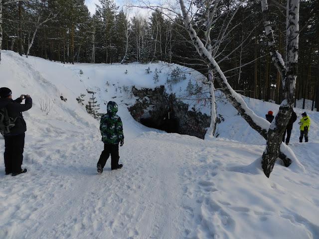 Сугомакская пещера зимой