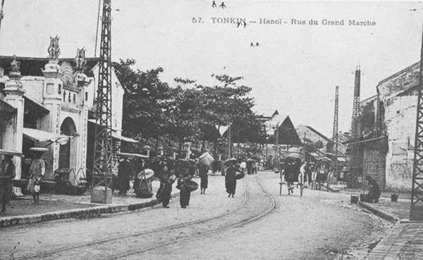Hà Nội xưa - phố Hàng Giầy