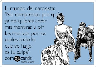 """""""El mundo del narcisista""""- imagen"""