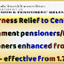 Dearness Relief to Central Government pensioners/family pensioners enhanced from 4% to 5% - DoP&PW O.M
