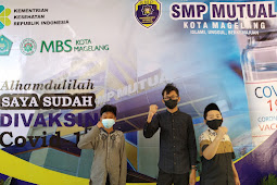 200 Siswa Boarding SMP Mutual Kota Magelang Mendapat Kesempatan Vaksin