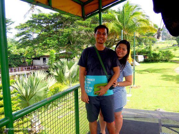 Zipline waiting area at Caliraya Resort Club
