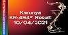 Karunya KR 494 Lottery Result 10-04-2021