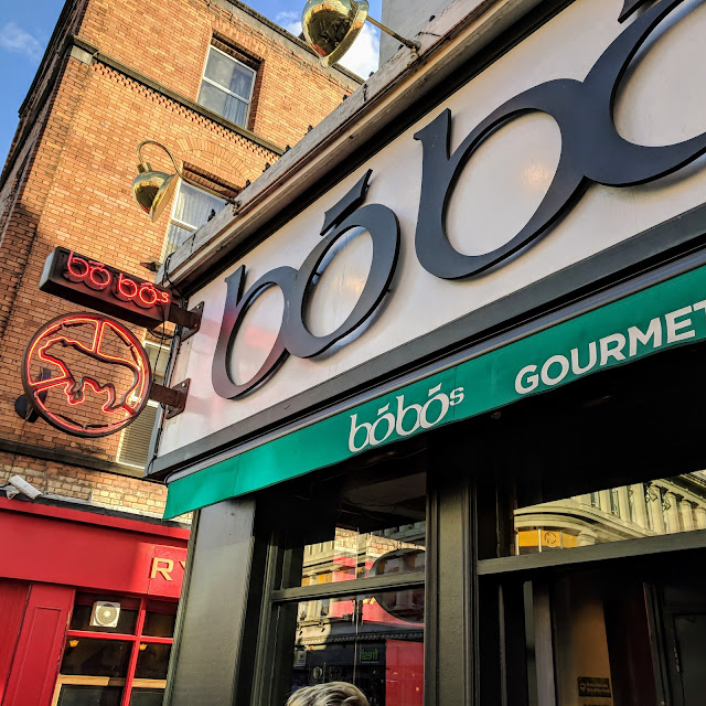 One day in Dublin City: Burgers at Bobo's on Camden Street
