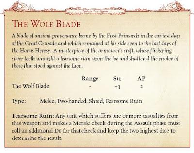 Espada del Lobo Lion'El Jonson