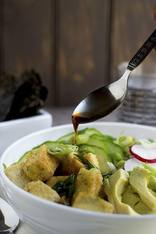 Vegan Tofu & Rice bowl