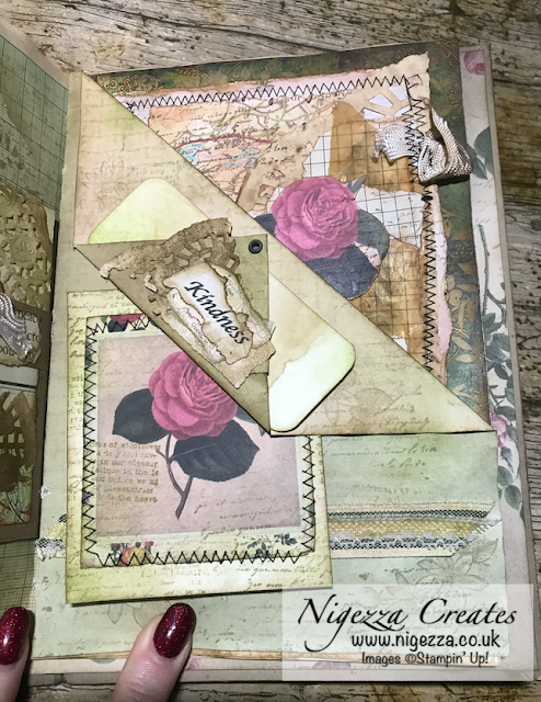Nigezza Creates My First Junk Journal: Dictionary Page Insert For Folded Page Pocket