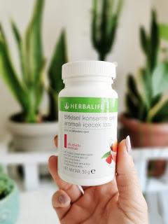 -Herbalife Bitkisel Konsantre Çay - Ahududu Aromalı
