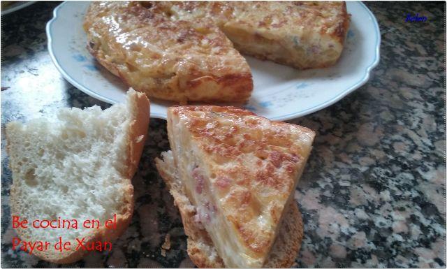 Tortilla De Patata Con Queso Cabrales