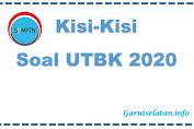 Kisi-Kisi Soal UTBK SBMPTN 2020