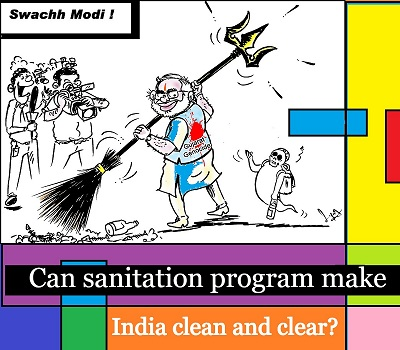 Can sanitation program make India clean and clear?