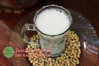 Cara Membuat Susu Terbaik Untuk Ibu Hamil dari Kacang Kedelai