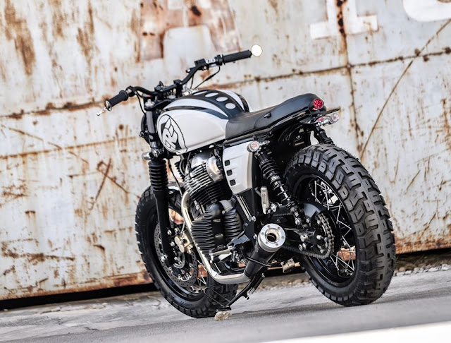 Royal Enfield By K-Speed Hell Kustom