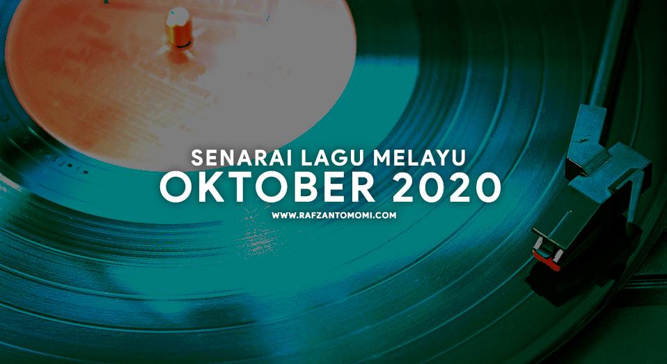 Senarai Lagu Melayu Oktober 2020