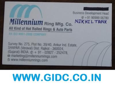 MILLENNIUM RING MFG CO - 9099906780