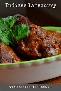 Indiase curry van lamsvlees