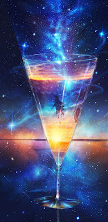 The Milky Way Martini