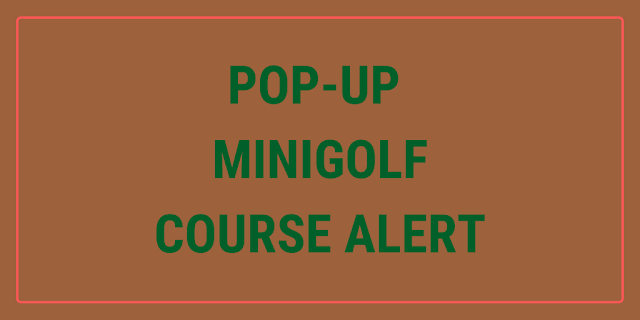 A new magic-themed pop-up minigolf course is opening in Denver, Colorado, USA