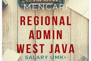 Lowongan Kerja Admin West Java