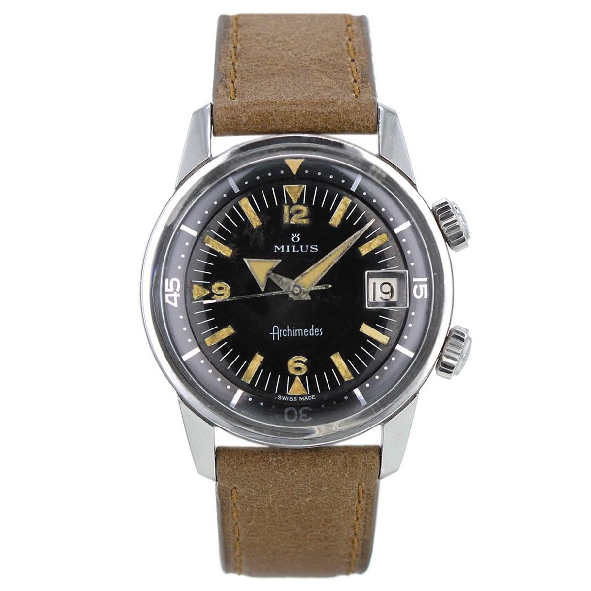 Milus Watch's new Archimedes Vintage+Archimèdes+Super+Compressor+by+MILUS+1970