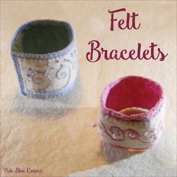 Felt Bracelets