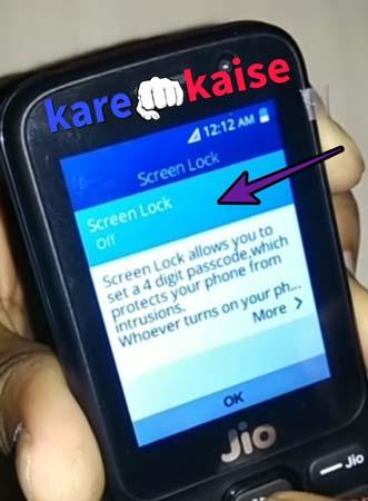 jio-phone-me-lock-kaise-lagaye
