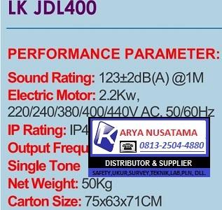 Katalog Sirine Lion King LK-JDL400 di Karyanusatama