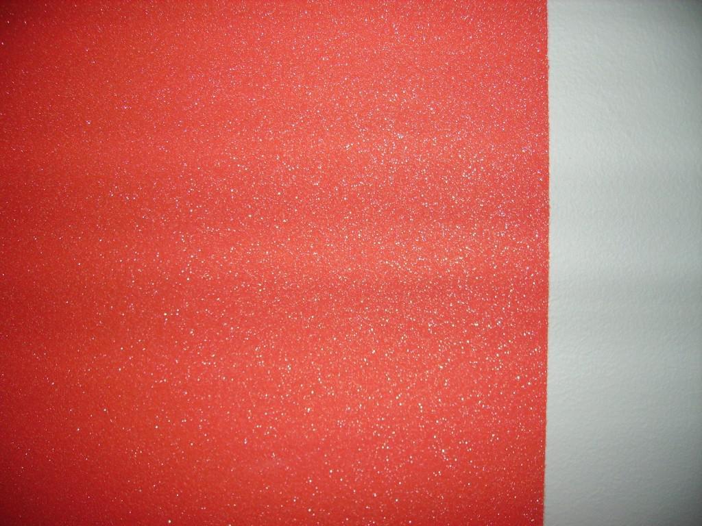 Pareti Glitterate Foto : Pittura con glitter in polvere pittura pareti bianco con