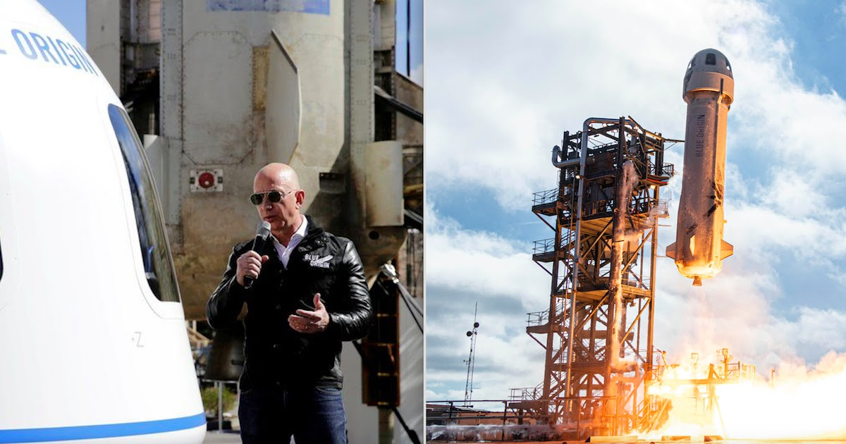 Jeff Bezos Will Be Flying To Space With His Brother In Blue Origin Flight