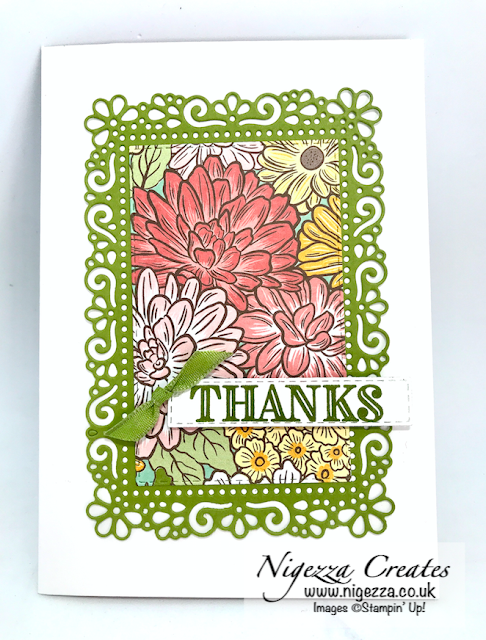 Nigezza Creates with Stampin' Up! and Ornate Garden Suite