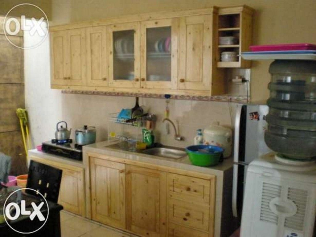 Dapur kayu pallet for Kitchen set yang bisa dipindah