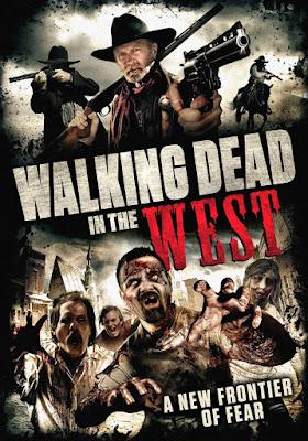 Walking Dead in the West - Locandina del film