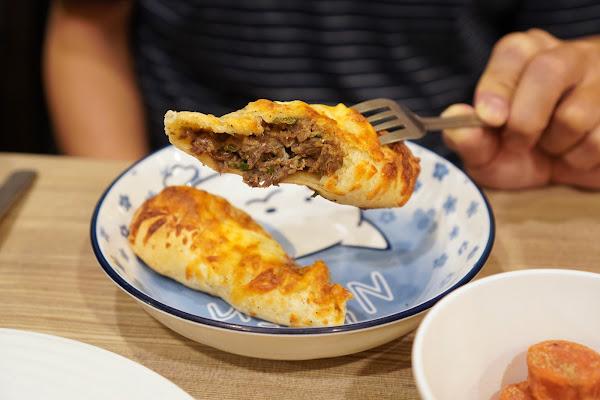 台南永康區美食【魔法咪嚕寵物主題餐廳】餐點介紹-黑胡椒牛肉捲