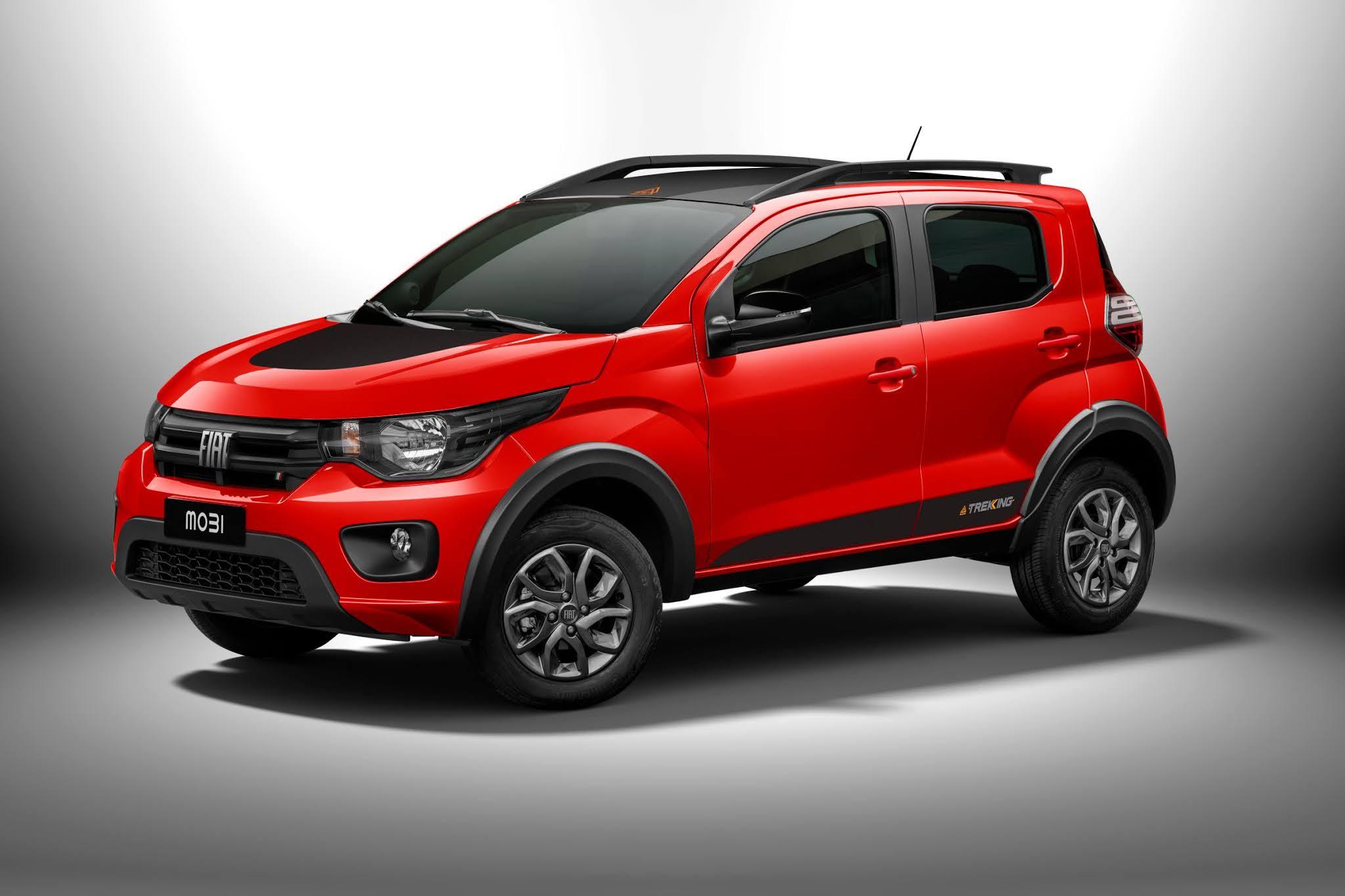 Fiat apresenta Mobi 2021 renovado, ainda mais robusto e com nova versão Trekking