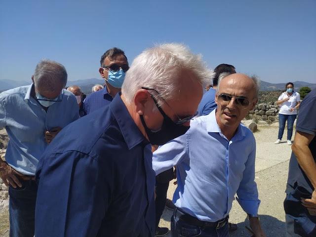 Γ. Γβρήλος: Θλίψη και οργή για την πρωτοφανή καταστροφή του αρχαιολογικού χώρου των  Μυκηνών